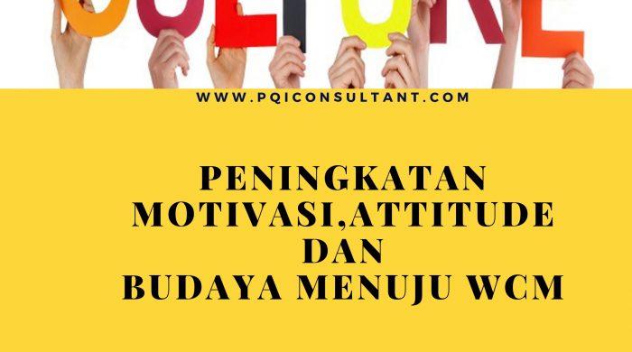 Peningkatan Motivasi,Attitude dan Budaya Menuju WCM