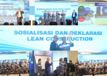 Sosialisasi dan Deklarasi Lean Construction PT.PP Persero Tbk