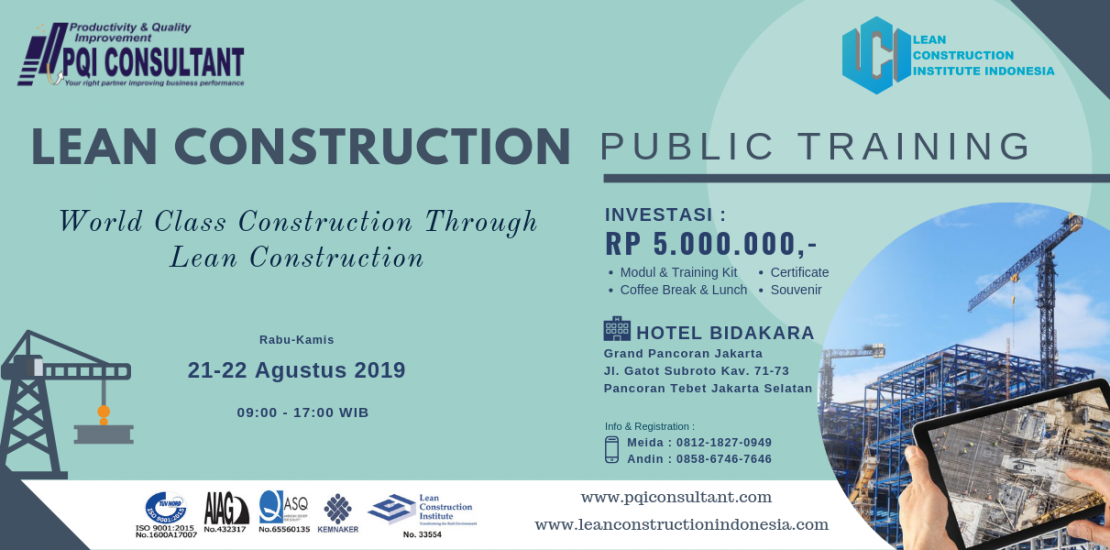 Lean Construction Public Training