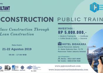 Lean Construction Public Training
