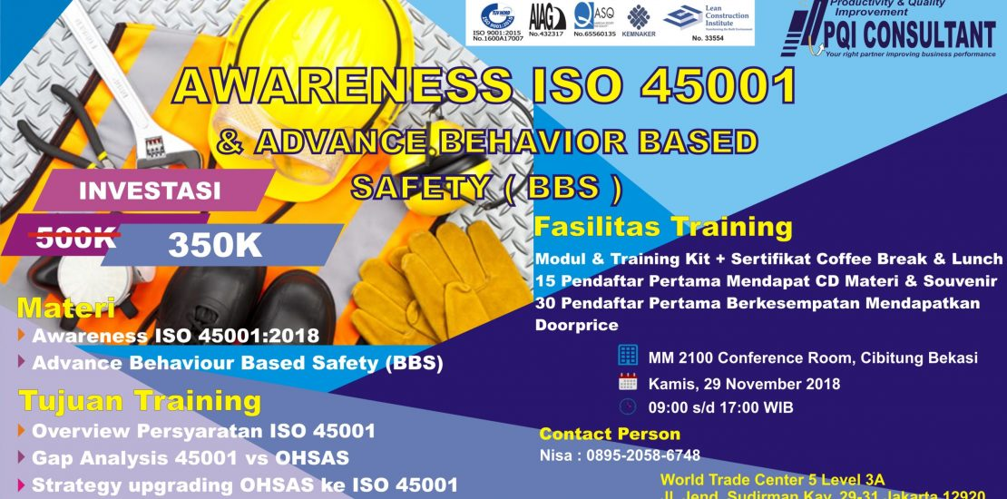 Training Awareness ISO 45001